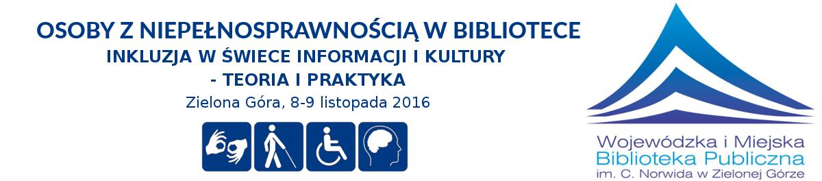 Międzynarodowa konferencja naukowa w WiMBP im. C. Norwida w Zielonej Górze